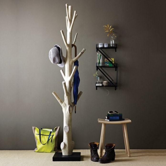 une idée pour la décoration avec des éléments naturels