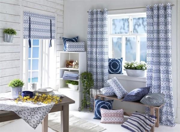 Une décoration d'une chambre de style méditerranéen