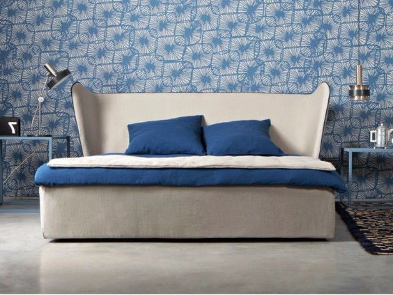 Une idée pour décorer une chambre adulte en bleu