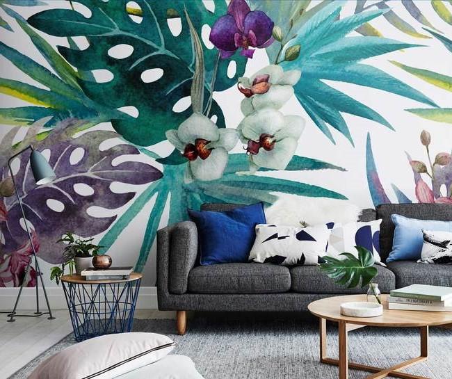 Une idée pour décorer une chambre avec des fleurs