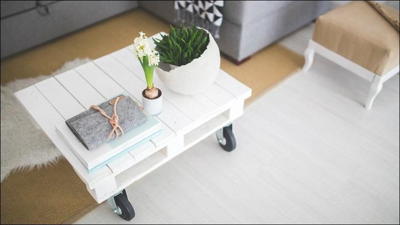 Une idée pour une table basse à palette