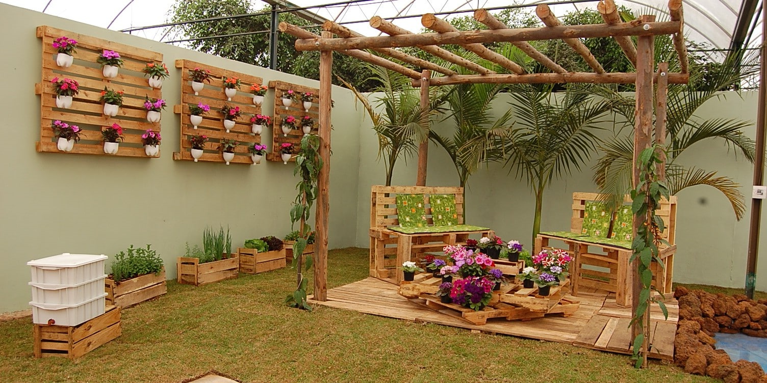 Idée palette - 18 façons dе meubler votre maison et le jardin