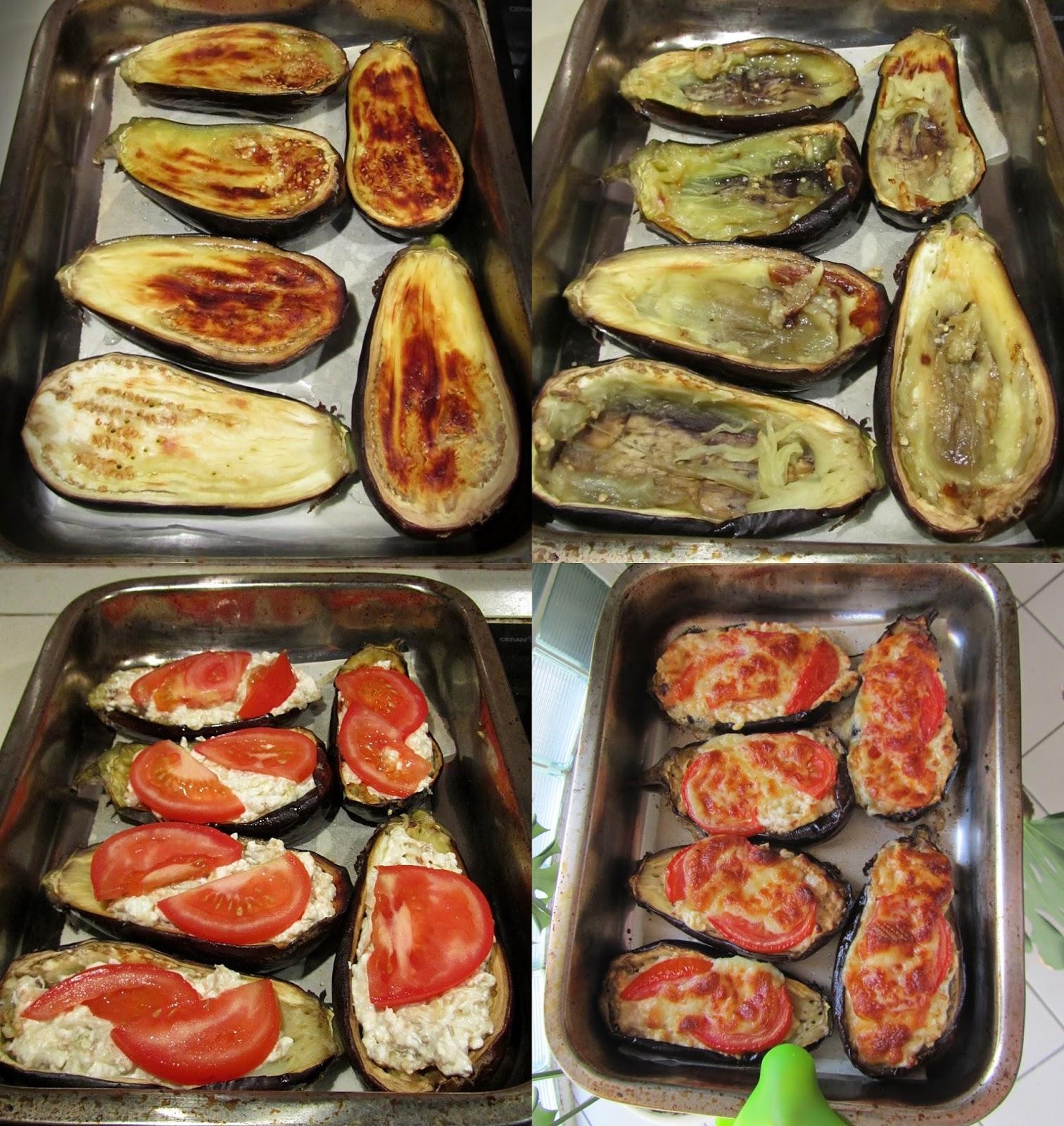 Aubergine aux deux fromages- une idée de recette simple mais tellement délicieux