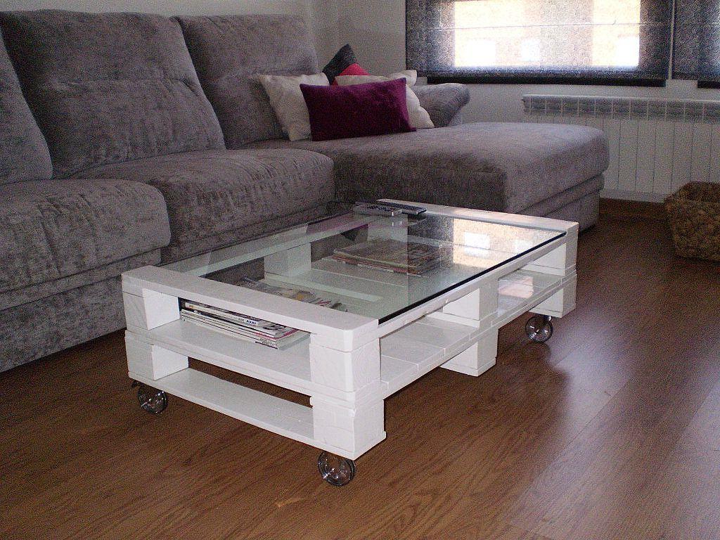 Une idée pour une table à palette
