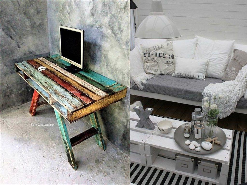 Des Idées pour des meubles avec des palettes en bois