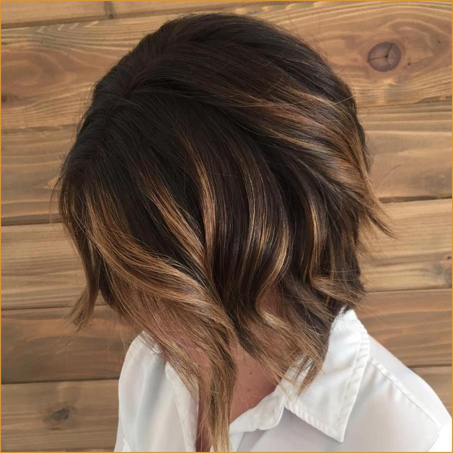 Balayage sur cheveux courts