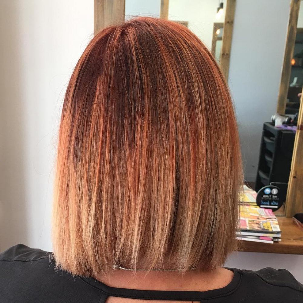 Balayage pour cheveux roux
