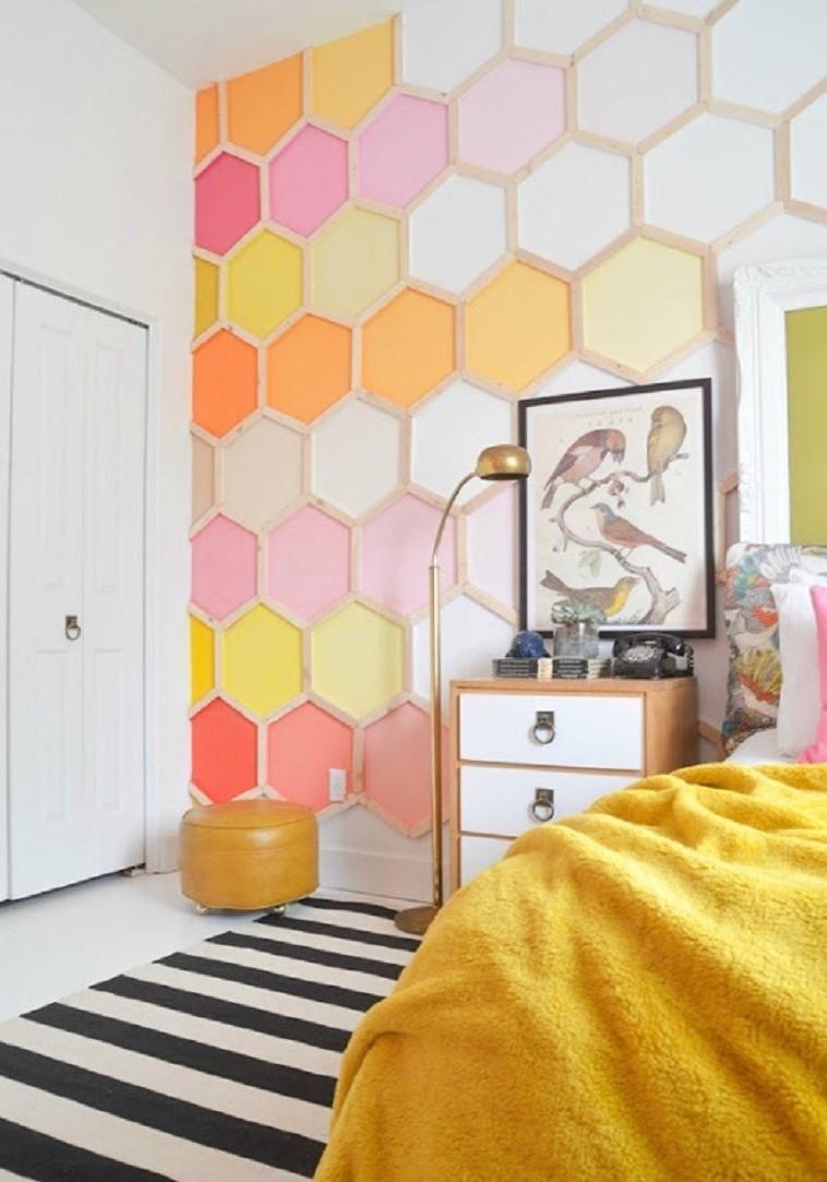 Pour un look moderne, mélangez différents motifs et couleurs.