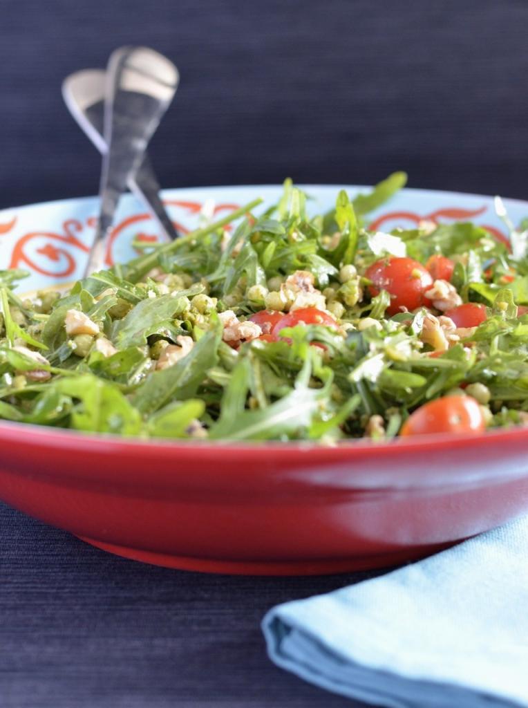 Une salade différente qui remplace le diner classique
