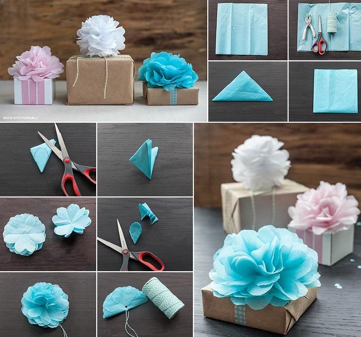 Préparez de petites boîtes-cadeaux pour chaque invité et mettez-y une note de remerciement et des bonbons.