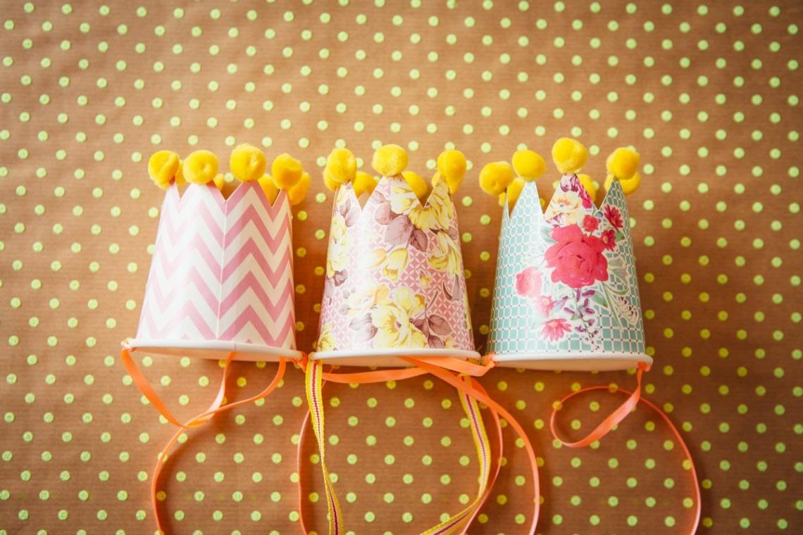 Vous pouvez même les faire ressembler à une couronne, pour les petites princesses!