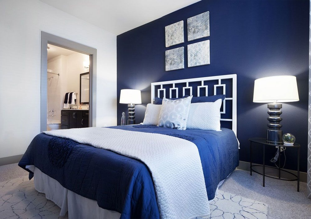 Déco de chambre adulte simple, mais élégant et moderne.