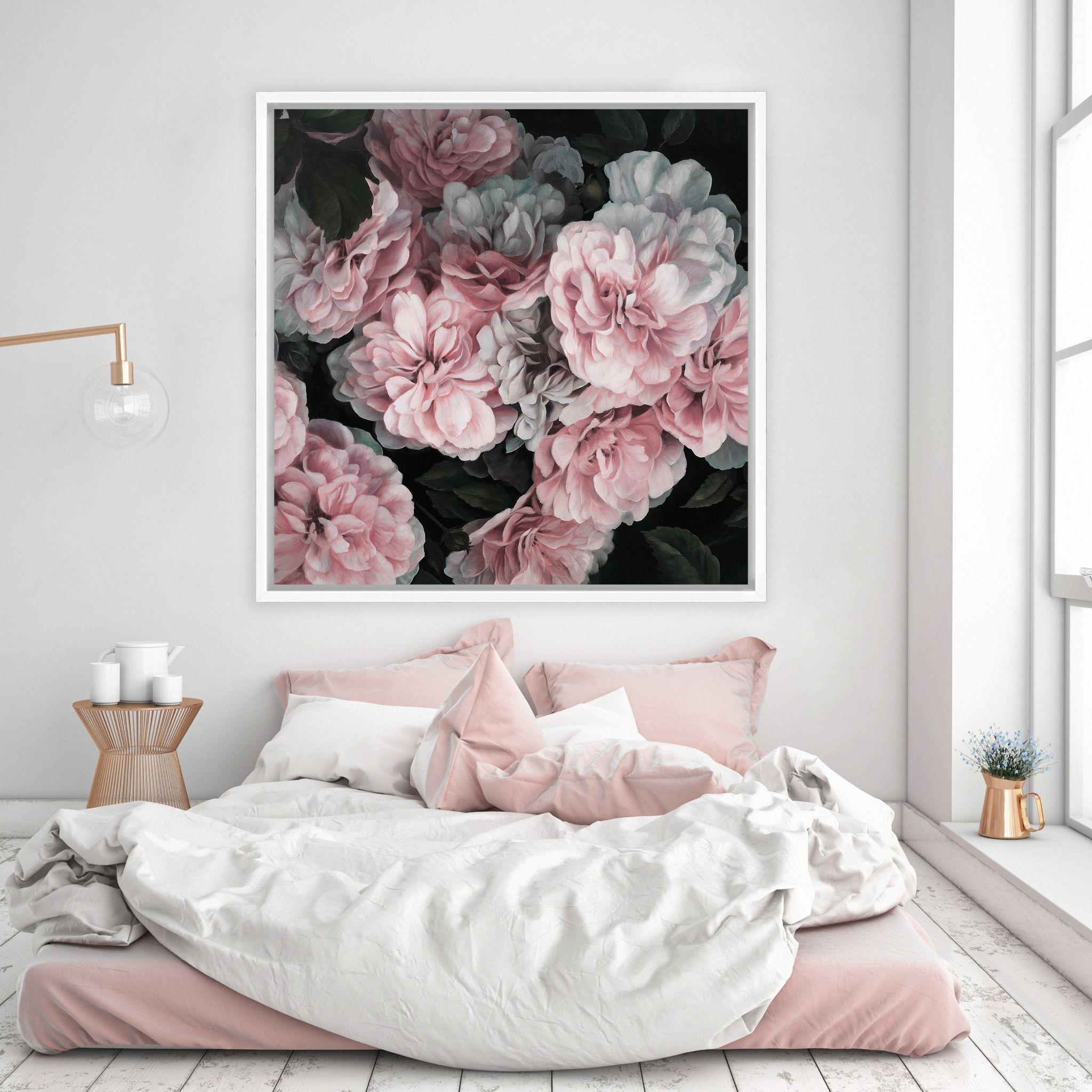 Pas besoin d'art coûteux - choisissez une belle photo et accrochez-la à votre mur.