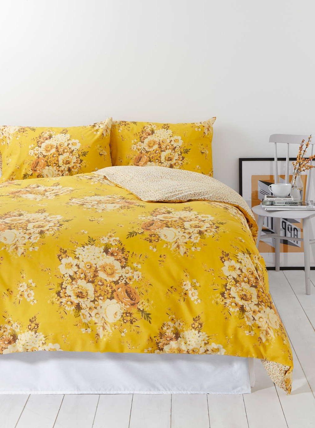 Le jaune est la couleur estivale idéale pour votre chambre à coucher!