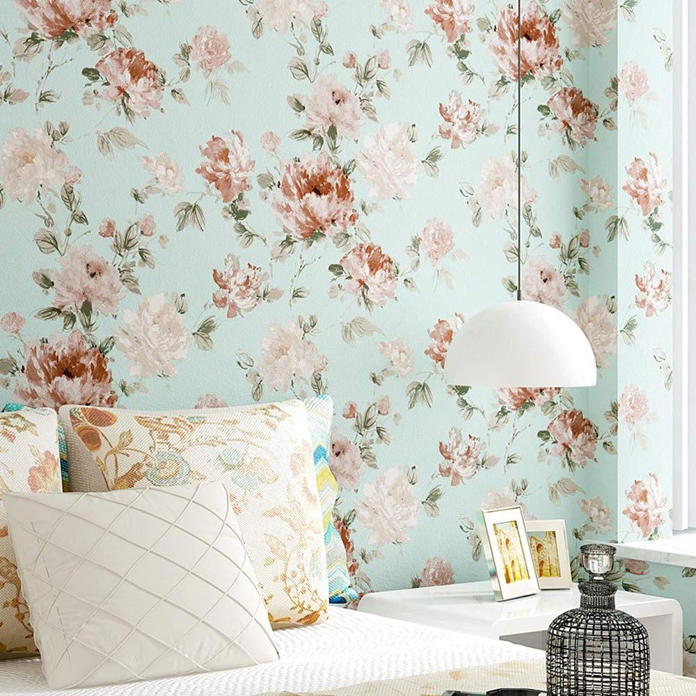 Le vrai classique - papiers peints floraux.