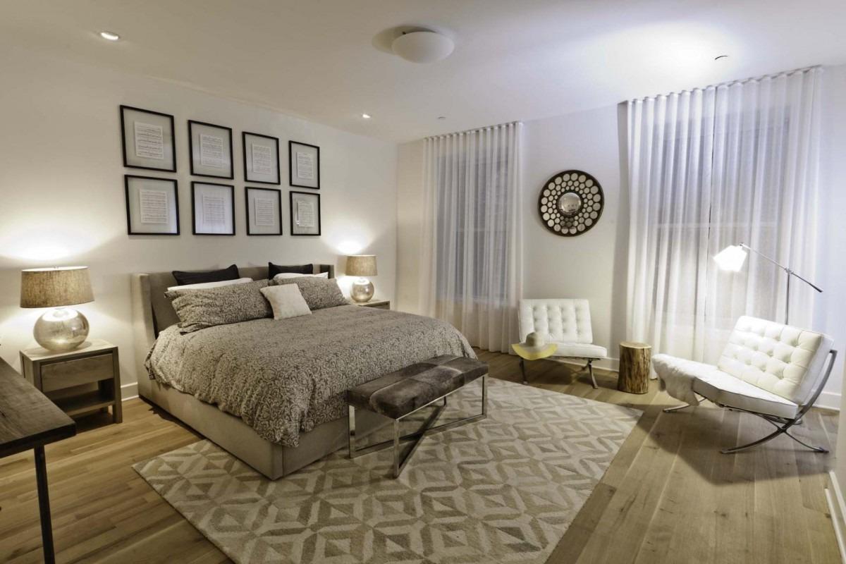 Choisissez une décoration murale originale et votre chambre aura l'air très moderne.