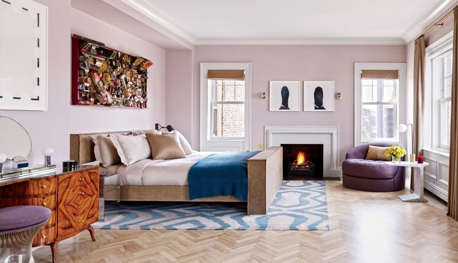 Idée bonus: associez le tapis à la couverture de votre lit.
