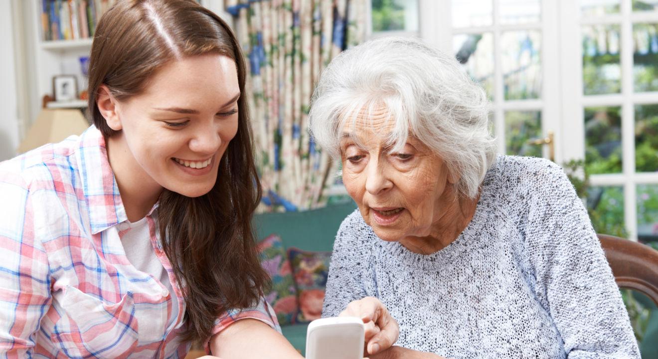 C'est une bonne idée cadeau 80 ans grand mère de passer du temps ensemble.