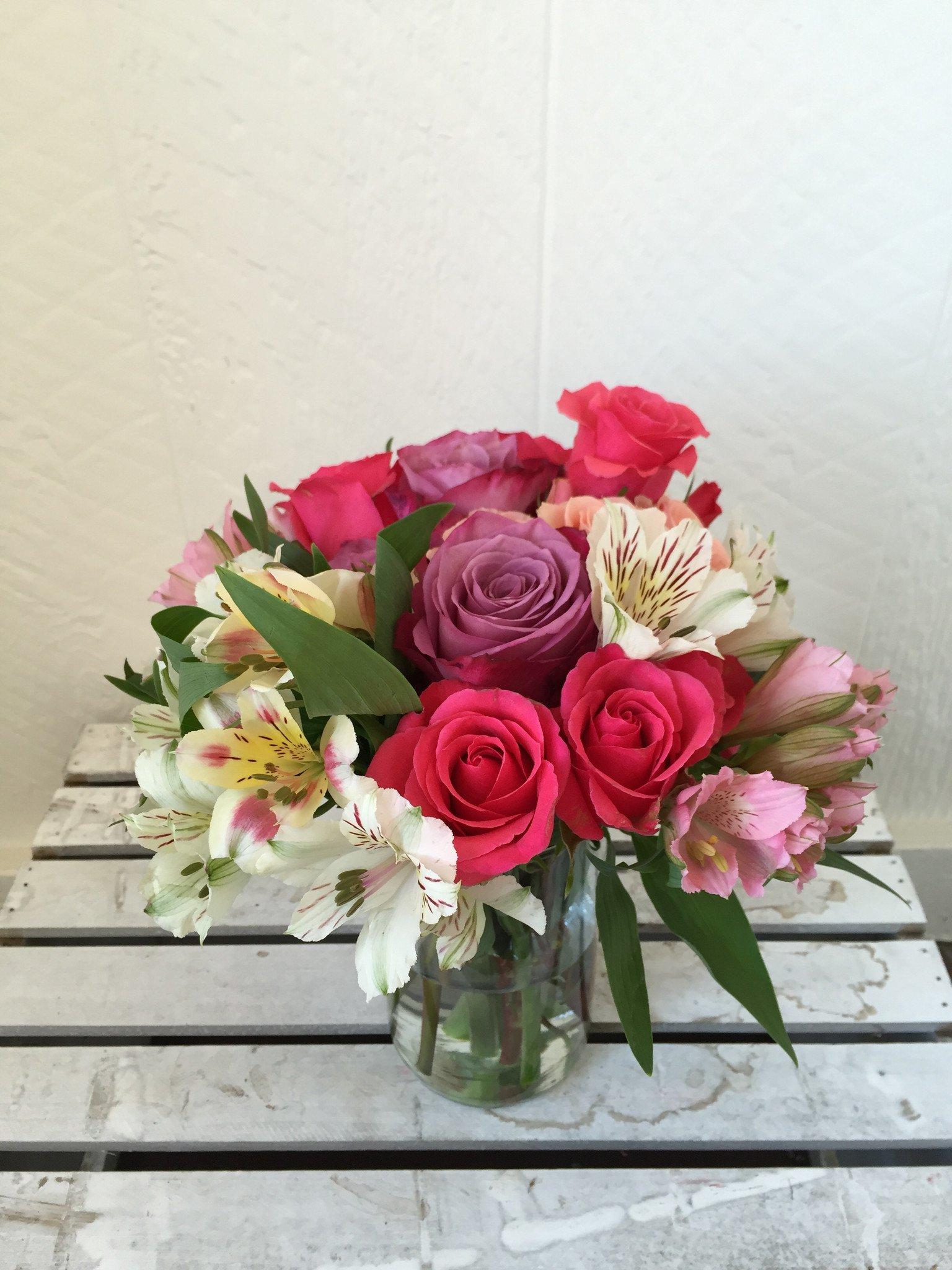 Un bouquet de fleurs favoris est une idée pratique cadeau pour grand mère 80 ans