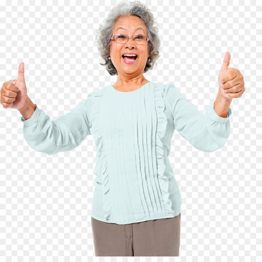 Quand la grand mère est heureuse, tout est parfait!