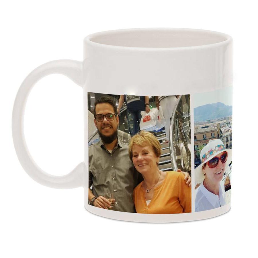 Idée cadeau grand mère 80 ans-elle boit son café avec plaisir