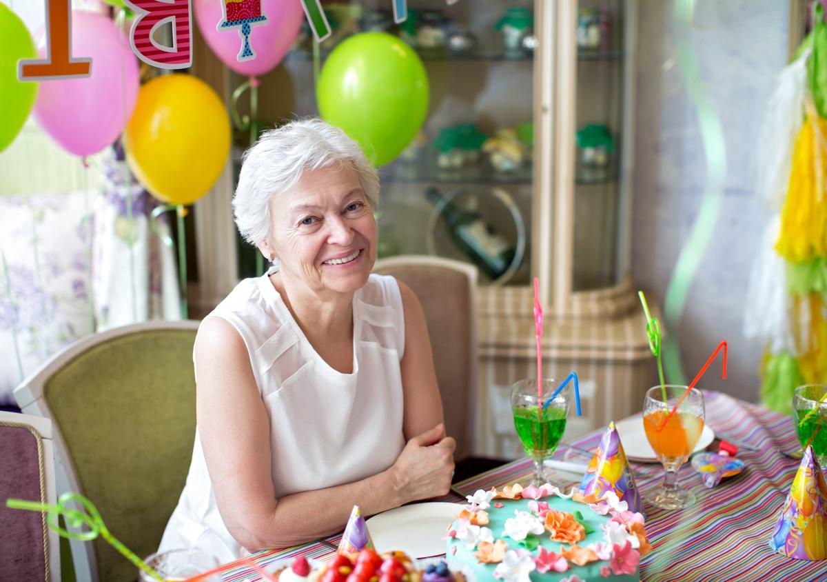 Idée cadeau grand mère 80 ans- une fête mémorable
