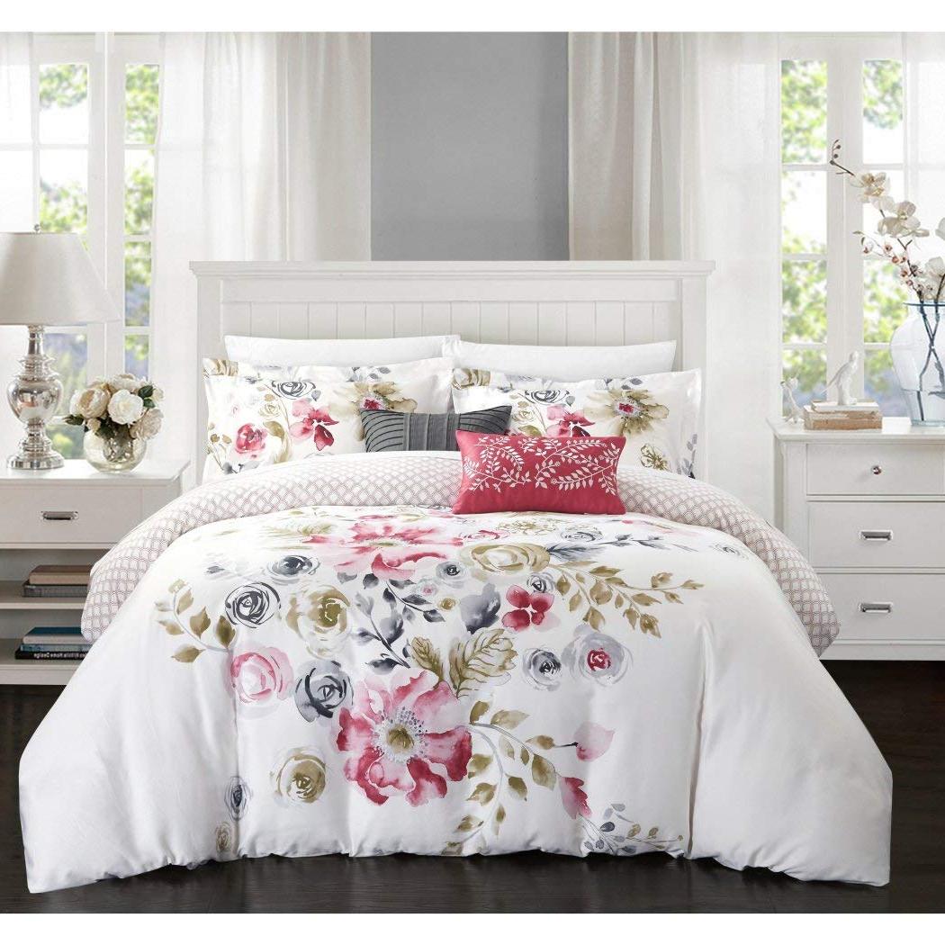 Linge de lit inspiré par le jardin de nos grands-mères