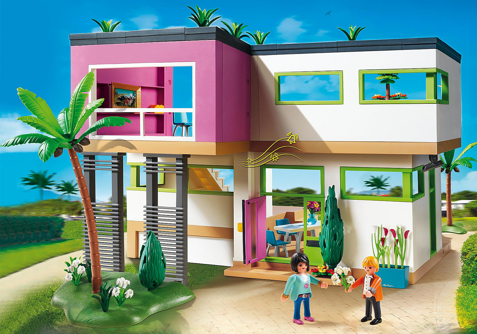 Maison moderne playmobil-un jouet pas cher pour vos enfants