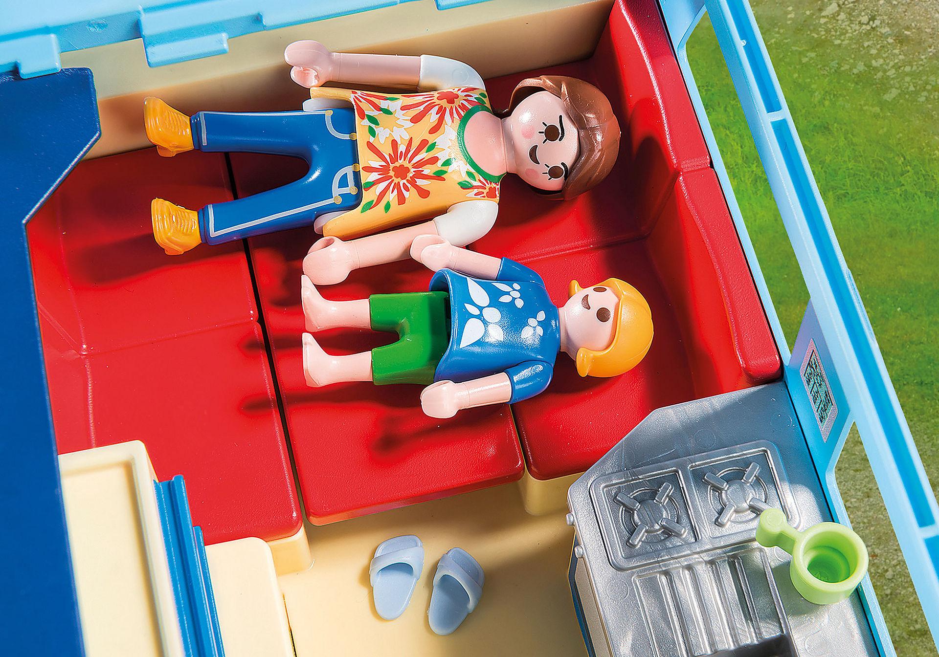 Maison moderne playmobil- vous pouvez dormir avec le bébé.