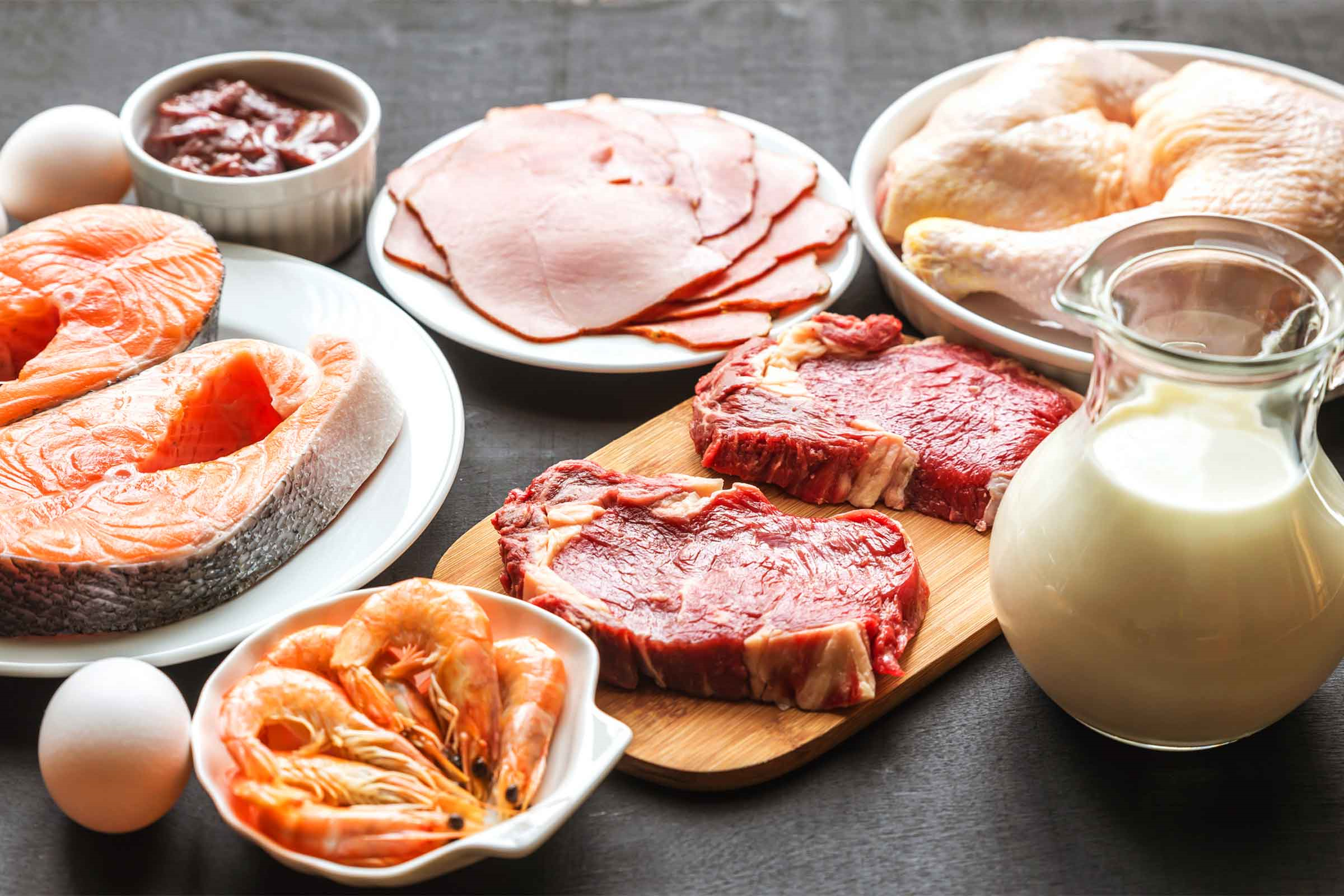 Pour tous les amateurs de la viande - c'est le régime parfait pour vous.