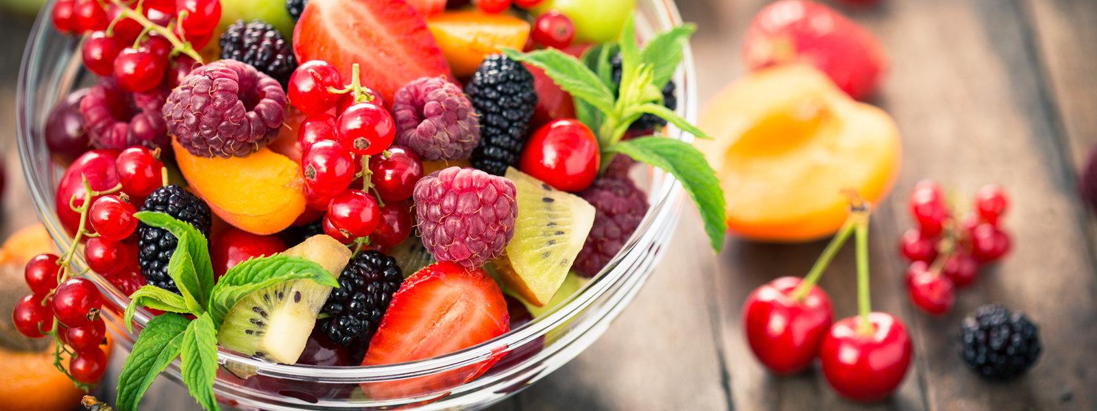 La bonne chose est que vous pouvez choisir n'importe quel fruit de saison que vous aimez.