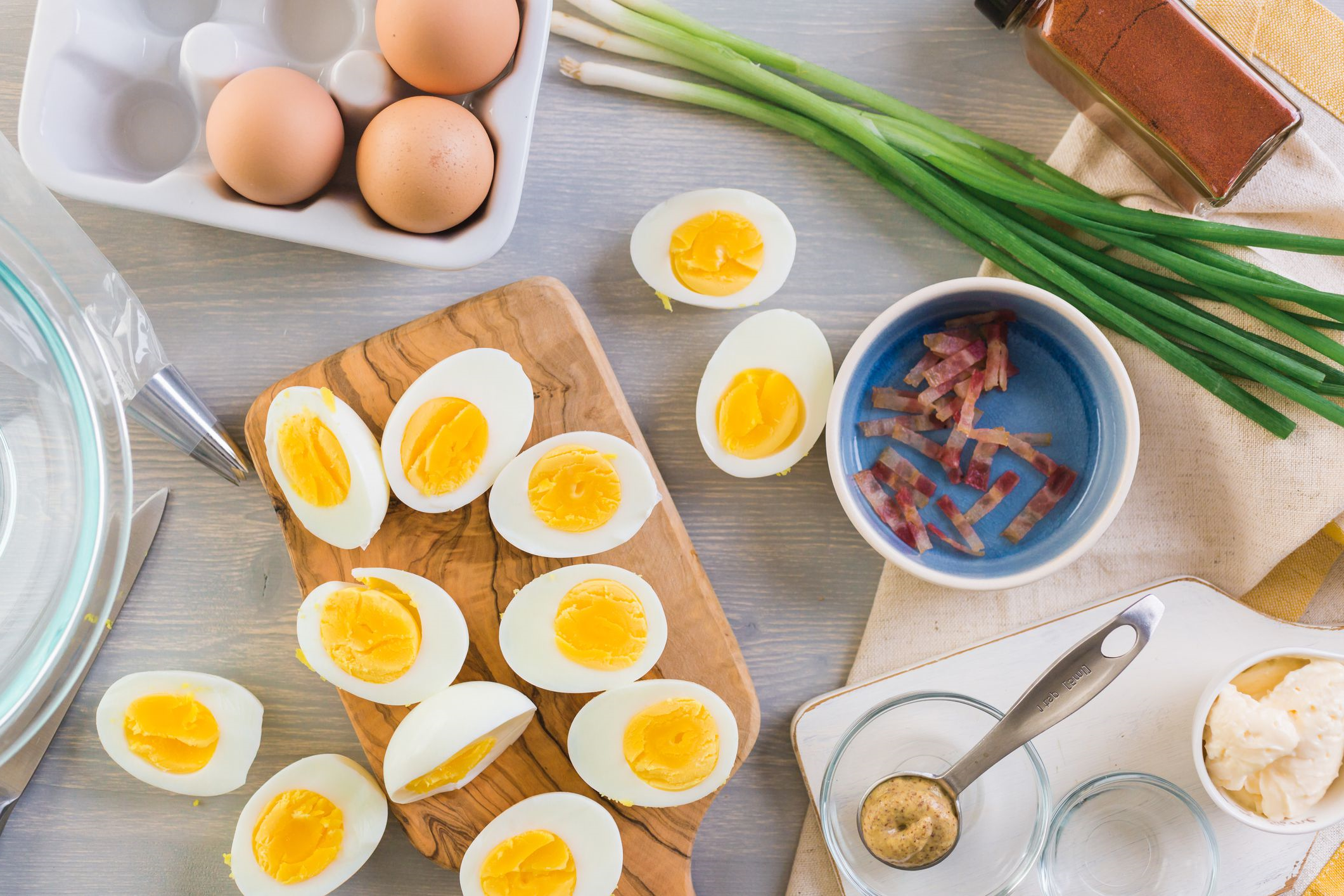 Les œufs à la coque sont une partie importante de ce menu minceur. Vous les consommerez plusieurs fois.