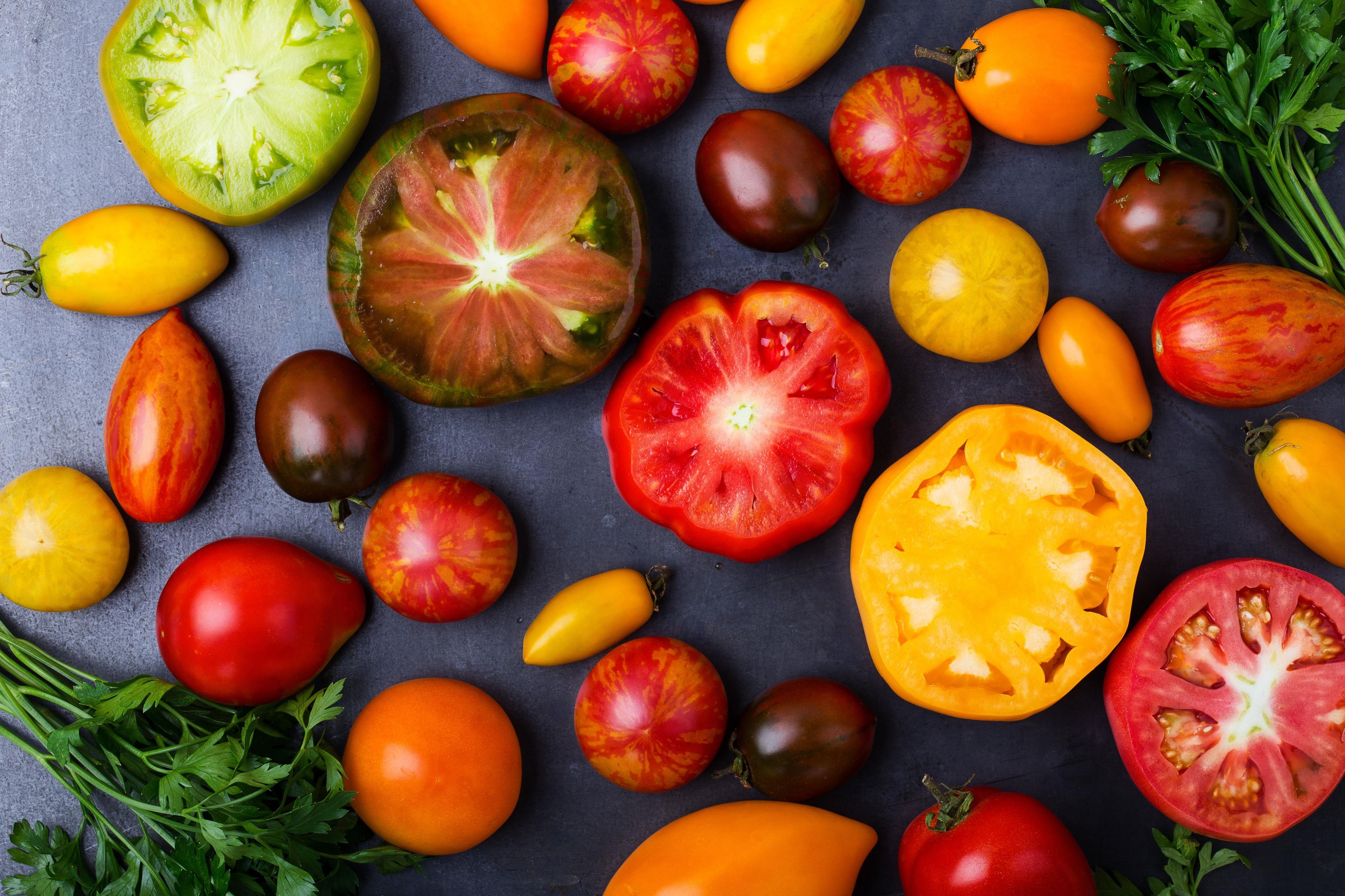 Fraîches ou cuites, les tomates sont toujours délicieuses!