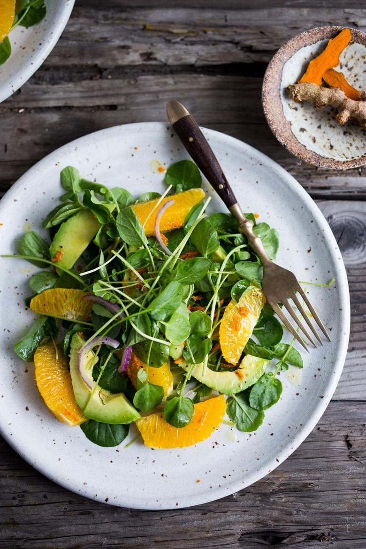 Une salade composée classique mais bonne