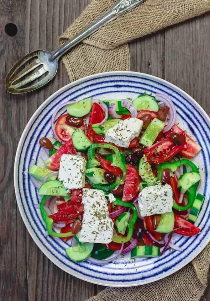 Une salade composée idéale pour l'été