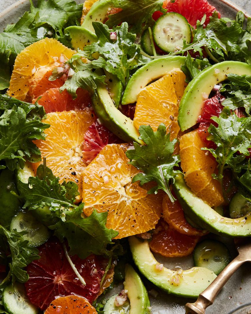 Une salade composée pour commencer l'été