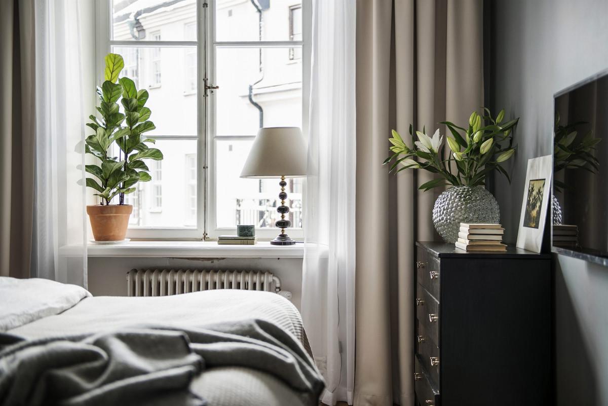 Les plantes vertes sont un élément primordial en décoration de votre chambre adulte
