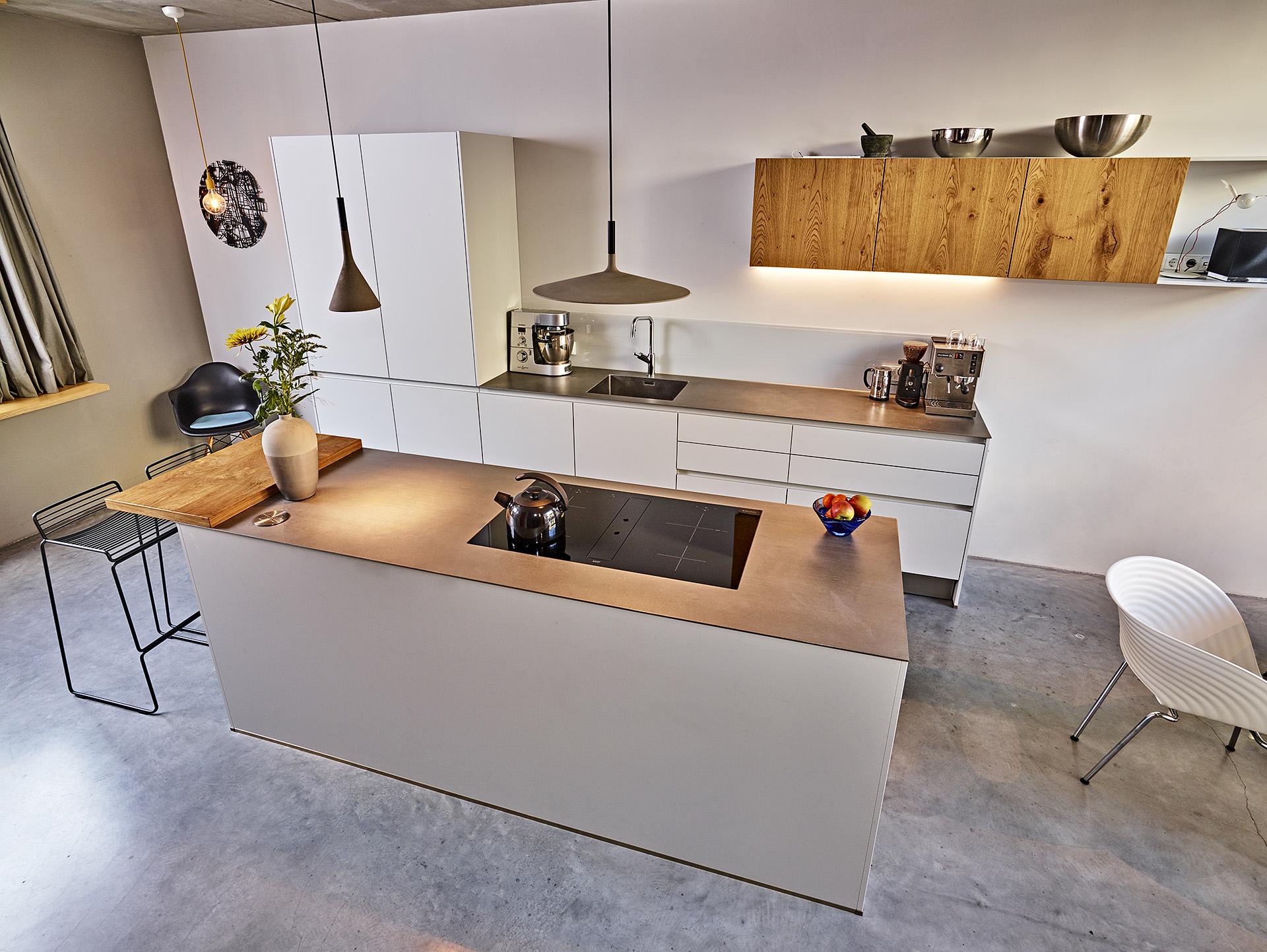 Une cuisine fonctionnelle et bien organisée