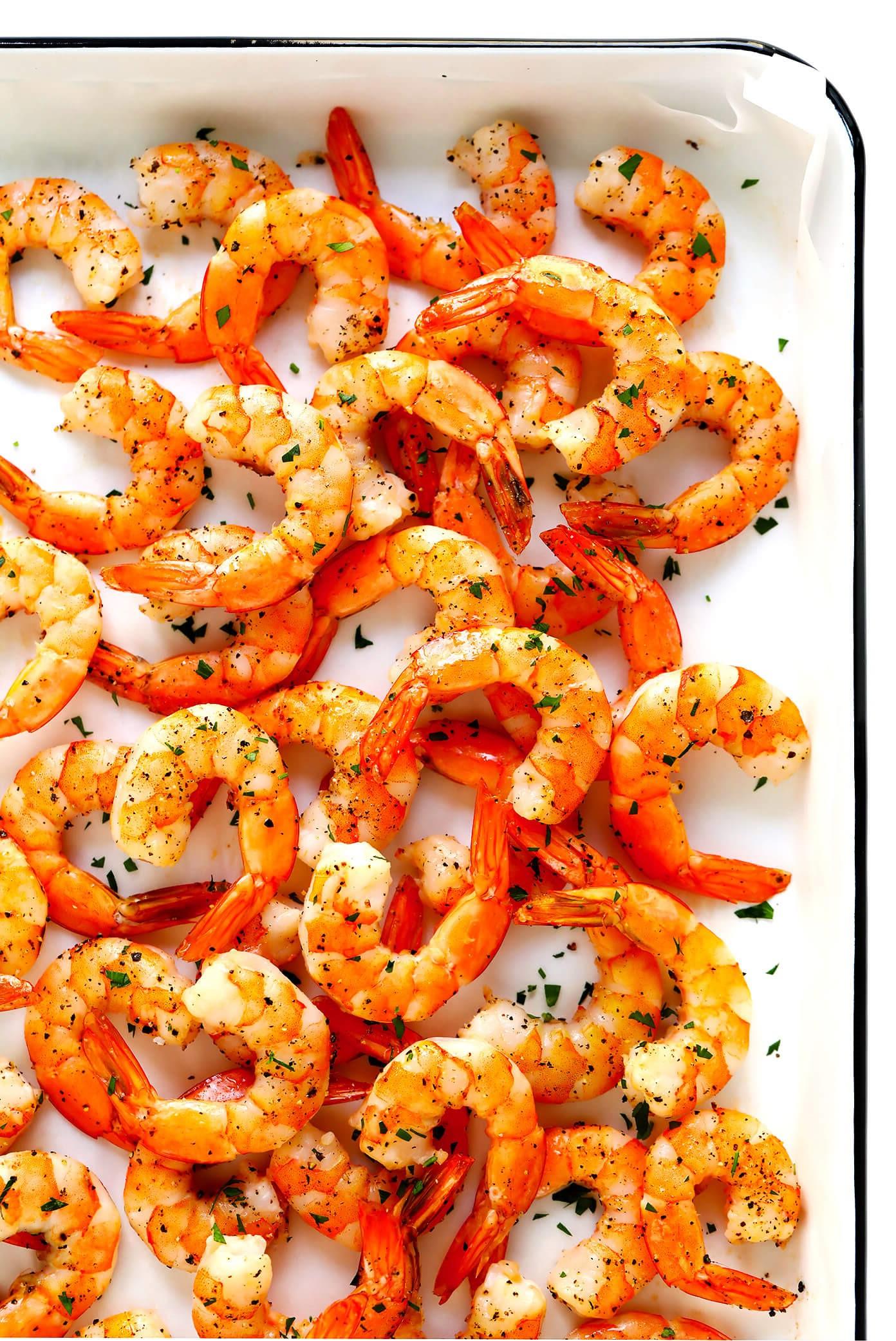 Les crevettes ne contiennent que 1 g de glucides pour 100 g.