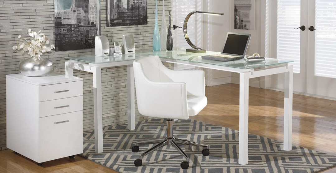 Essayez quelques lampes de table offrant une belle lueur douce et un design intéressant.