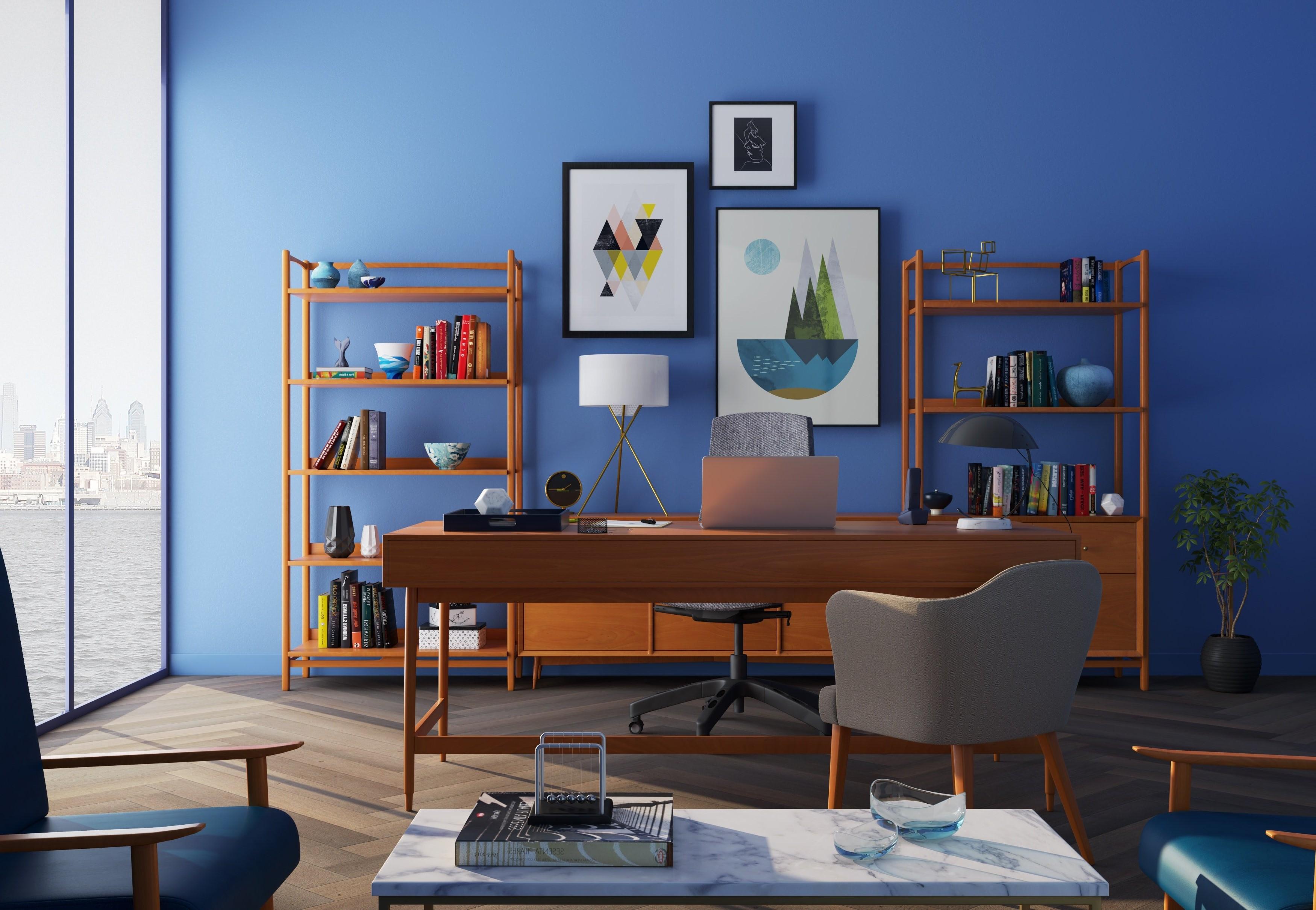 Par exemple, vous pouvez peindre le mur dans votre couleur préférée.