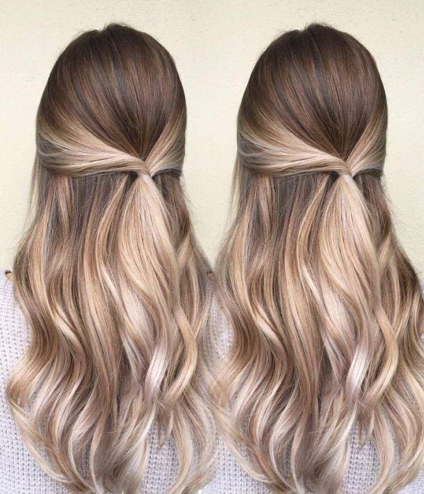 Cette technique abîme moins les cheveux qu'une coloration classique.
