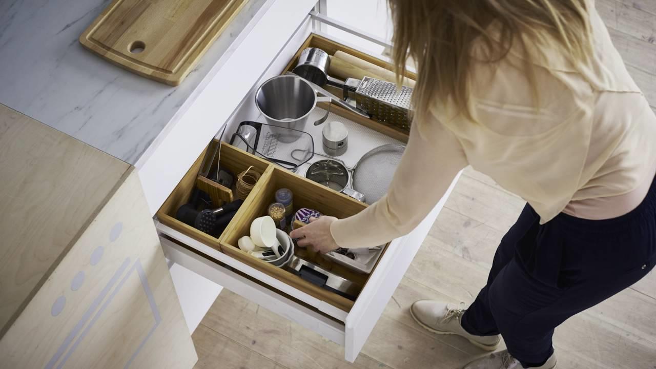 Comment réussir le rangement de votre cuisine IKEA de manière pratique