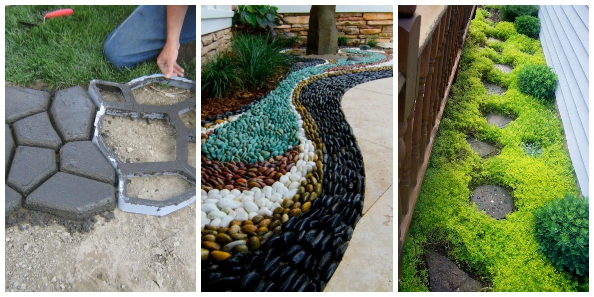 Déco dans le jardin avec des pierres