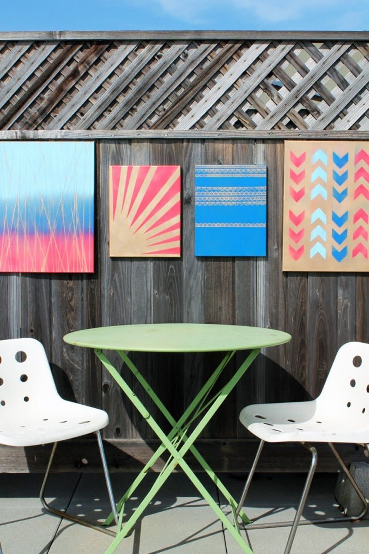 Il n'est pas nécessaire que l'art mural soit cher - vous pouvez le faire vous-même!