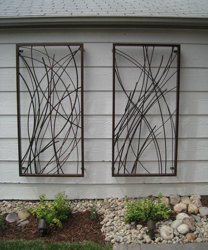 Une œuvre d'art unique en métal en fer, en zinc ou en cuivre peut devenir un véritable sujet de conversation.