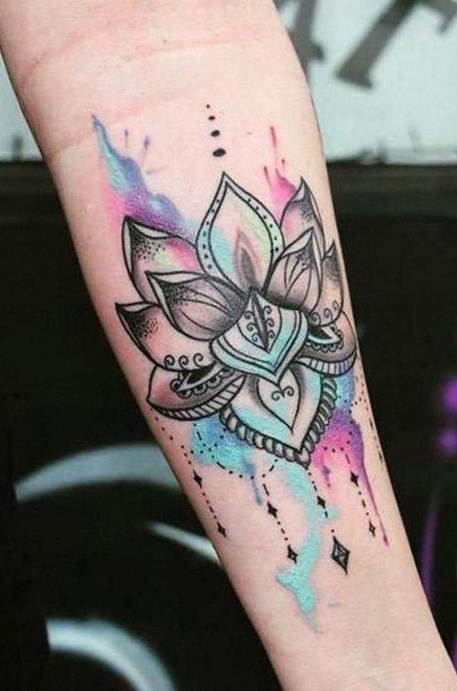 Le bouddhisme, comme l'hindouisme, a également un lien étroit avec la fleur de lotus.