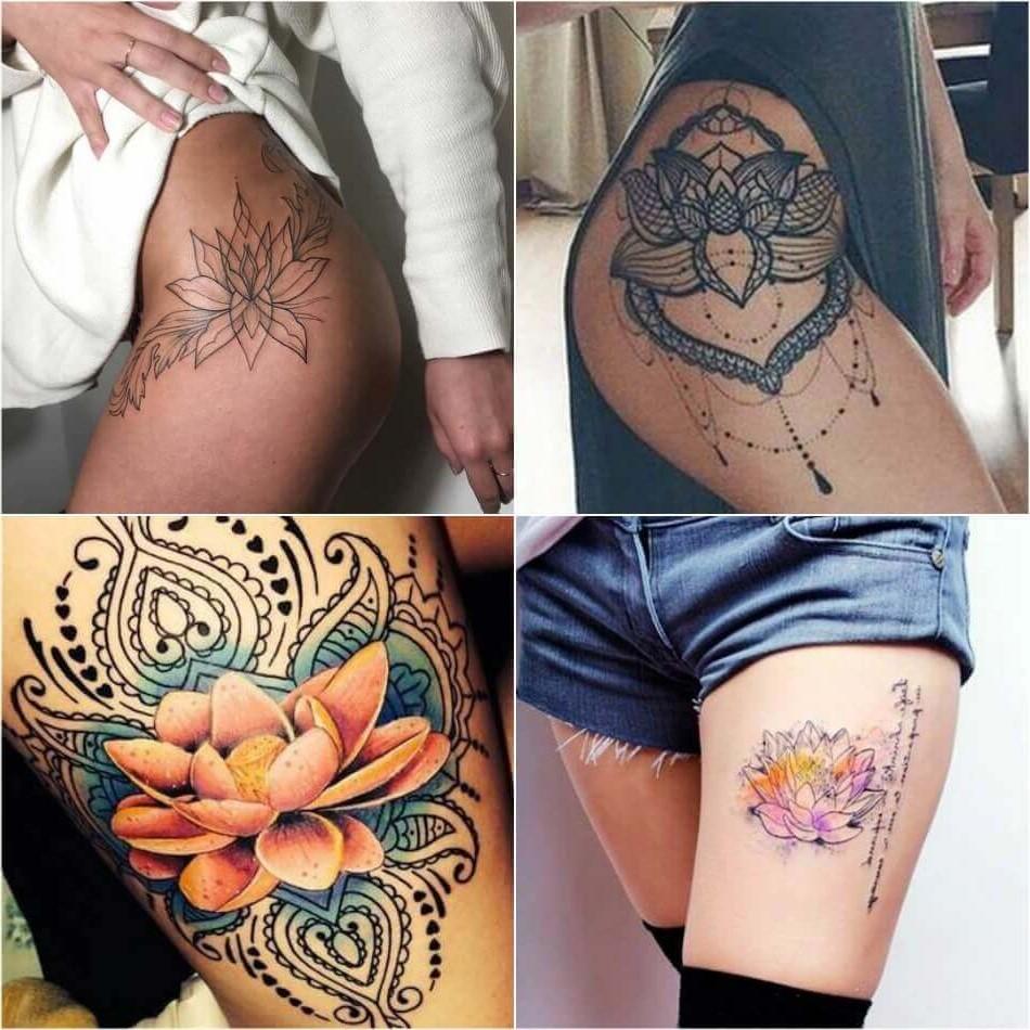 Pour les bouddhistes, la fleur de lotus représente la pureté du corps et de l'esprit.