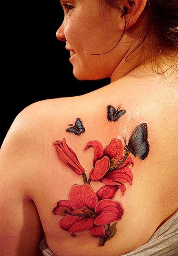 La fleur de lys orange est un indicateur d'indépendance et de passion.