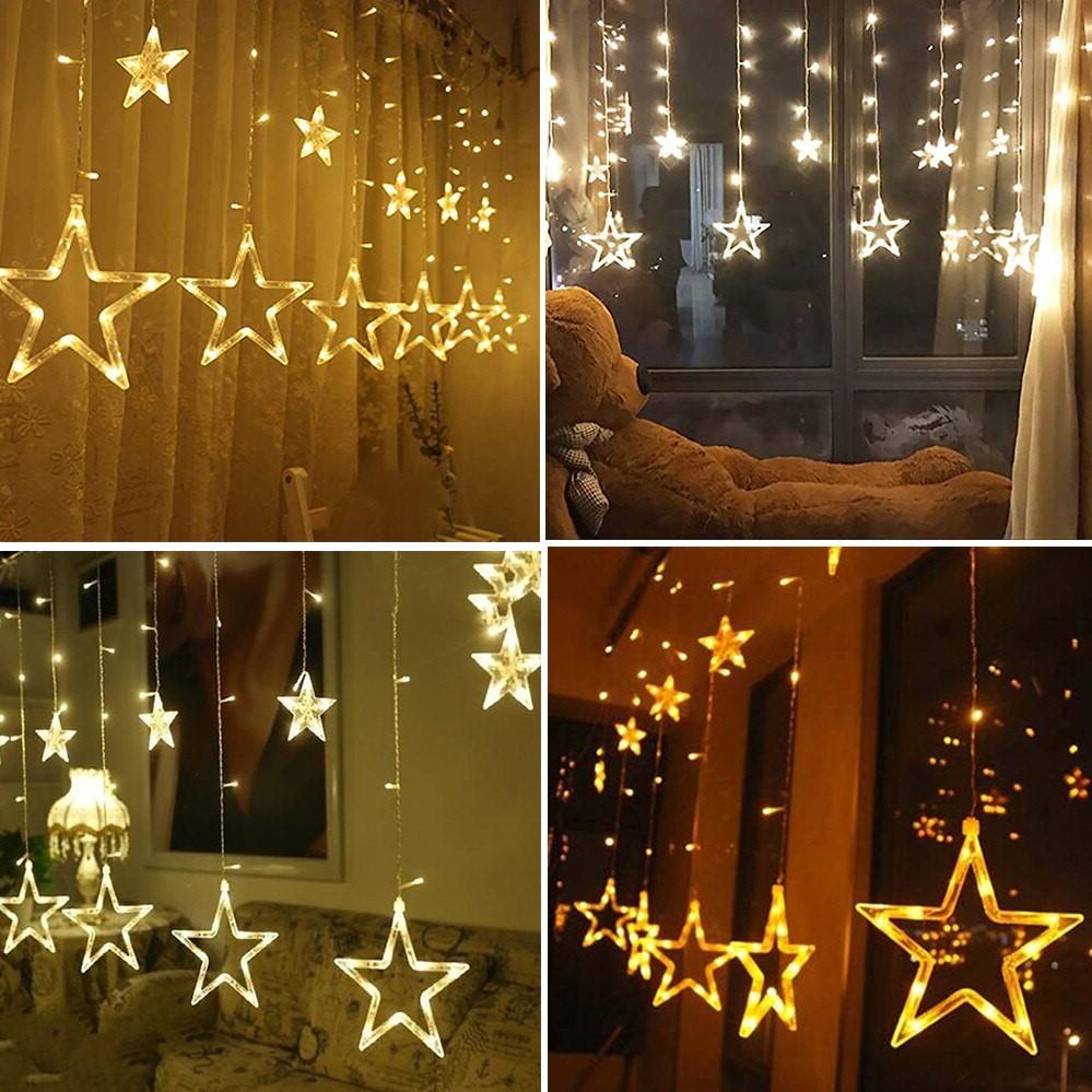 Cette guirlande lumineuse en forme d'étoile rendra votre enfant heureux!